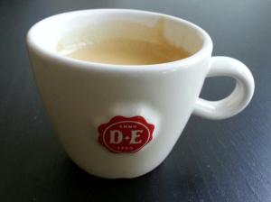 Sarah was vroeg wakker en ik had een redelijk drukke dag voor de boeg. Lang leve Espresso's!